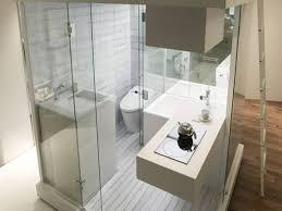 Narrow Bathroom Ideas Sleek Narrow Bathroom Design With Brilliant Shower Cubicle And