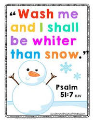 winter bible verse printables sunday snowman snow
