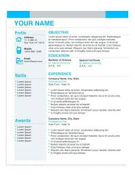 ba resume format professional business resume templates business operations manager