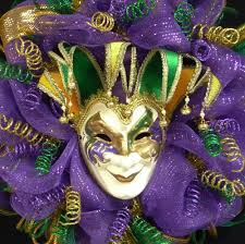 mardi gras items mardi gras jester mask wreath tuesday mardi gras decor 970