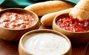 Olive Garden Five Cheese Marinara - dipping sauces includes 4 breadsticks lunch dinner menu olive