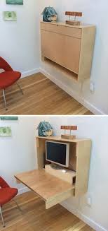 Small Folding Desks 16 Wall Desk Ideas That Are Great For Small Spaces Small Spaces
