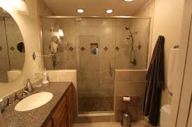 bathroom elegant decorating ideas using brown corner bathtubs and
