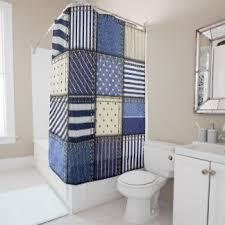 Denim Curtain Denim Shower Curtains Zazzle