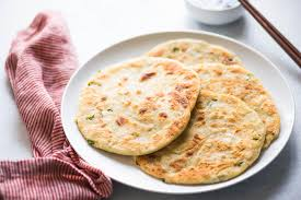 halloween pancakes scallion pancakes recipe with video simplyrecipes com