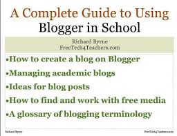 blogger guide pdf a complete guide to using blogger in school 81 page free pdf