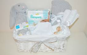baby basket gift diy unisex baby basket ella and me