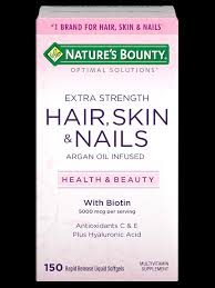 for hair strength hair skin nails 5 000 mcg of biotin 150 rapid
