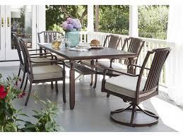 Paula Deen Dining Chairs Paula Deen Outdoor River House Aluminum Dining Set Riverhouseset6