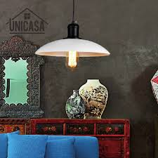 compare prices on iron kitchen island online shopping buy low vintage pendant lights white iron shade lighting fixtures kitchen island office modern led loft industrail pendant ceiling lamp