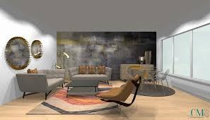 siege social roche bobois aménagement d un appartement pour roche bobois cm design