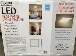 Costco Led Light Fixture Feit Led Flat Panel Light Fixture 15 X 15 Costco Weekender