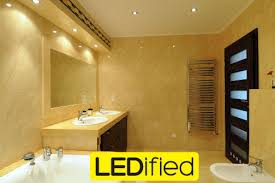 Led Lights In Bathroom Brighten Up Your Bathroom With Led Lighting Ledified