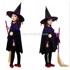 girls witch cloak for halloween party costume ball witch dress