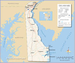Usa Interstate Map by Reference Map Of Delaware Usa Nations Online Project