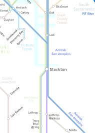 Elk Grove Ca Map Today In Cartography Stockton Transportation In Two Maps