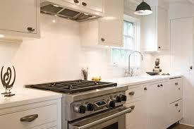 Vintage Galley Kitchen - white galley kitchen cottage kitchen hampton design