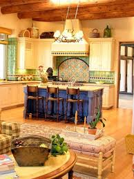 Mexican Kitchen Decor by The Different Shapes Of Large Kitchen Island Designs For