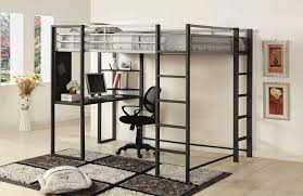 wooden full loft bed with desk u2014 all home ideas and decor full