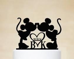 mickey and minnie cake topper disney cake topper etsy