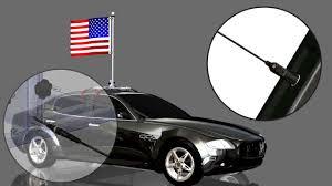Car Antenna Flags Beast Car Flags Setup Animation Youtube