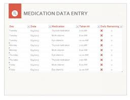 my health medication schedule calendar free printable