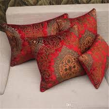 engraved pillows bz193 european velvet engraved fabric cushion cover