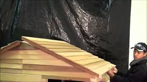 cedarshed playhouse assembly example from living outfitters youtube