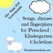 Preschool Halloween Poems Storytime Standouts Free Printable Songs Rhymes And Fingerplays