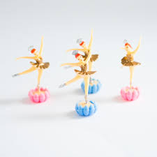 ballerina cake toppers gold ballerina cake toppers 4 pack sweetlayercake