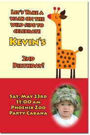 zoo animals jungle safari birthday invitations download jpg now