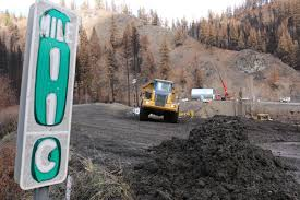 Bc Wildfire Highway Closures by Aftermath Of Oregon Wildfire Forces Road Closure Lengthy Detour