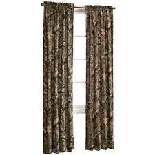 Camo Shower Curtain Break Up Infinity Rod Pocket Back Tab Curtain Panel 2 Pack