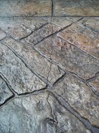 Repair Concrete Patio Cracks Gilliland Landscape Stamped Concrete