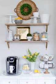 Coffee Bar Decor Updated For Spring Home I Create