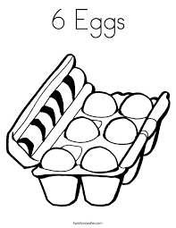 Eggs Coloring Page Funycoloring Egg Colouring Page