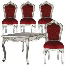 Kuechen Moebel Guenstig Stühle Für Küche Esstisch Angebot Barock Bordeauxrote Tisch 80cm