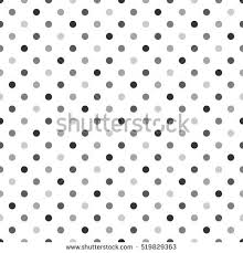 seamless polka dot pattern vector background stock vector