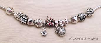 pandora bracelet charm bracelet images What i 39 m wearing my first ever pandora christmas bracelet my jpg