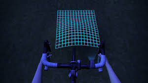 invents led bike light for mapping terrain