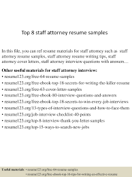Best Legal Resume Templates by Top8staffattorneyresumesamples 150723091319 Lva1 App6891 Thumbnail 4 Jpg Cb U003d1437642844