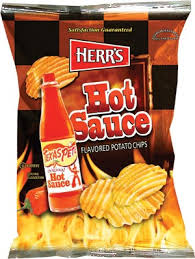 ripples chips herr s products hot sauce potato chips