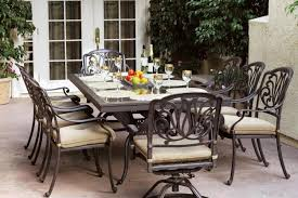 How To Clean Cast Aluminum Patio Furniture Outdoor Furniture Ideas 10 Great Patio Furniture Dinning Sets