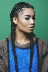 weave braid hairstyles two french braid hairstyles for black hair with weave braids two