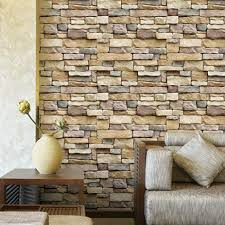 home design living room decor searchi self adhesive brick wallpaper 3d textured removable and