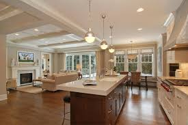 kitchen and family room layouts houzz