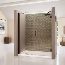 Shower Door Hinged by Bathroom Stunning Unidoor 72