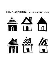 make your own house stamp a beautiful mess diy steps idolza