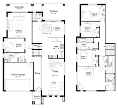 split level house plan floor plan friday split level 4 bedroom study floor plans