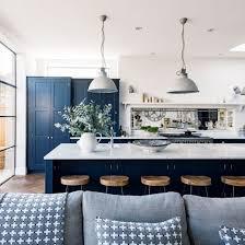 Blue Kitchen Cabinets Navy Blue Kitchen Decor U2013 Quicua Com